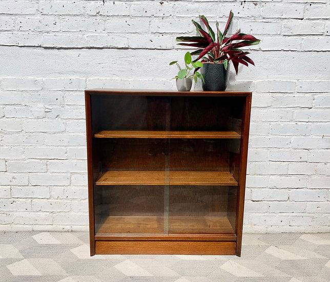 Small Vintage Bookshelf Cabinet by Herbert E. Gibbs #D453