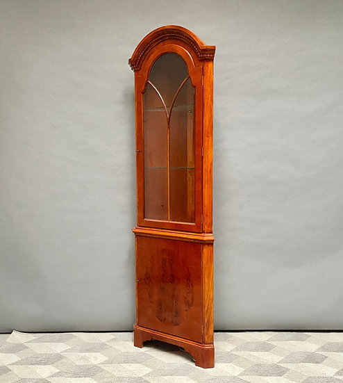 Antique Style Free Standing Corner Cabinet right