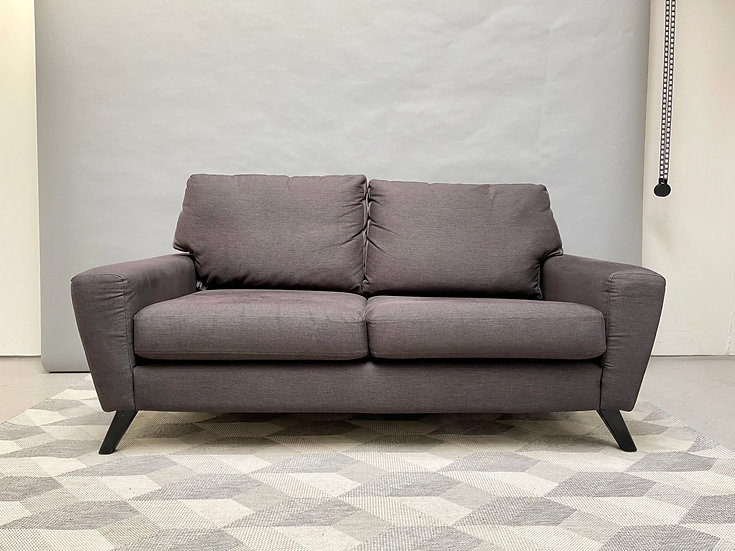 G Plan 2 Seater Sofa Settee Grey