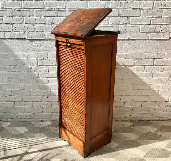 Vintage Filing Cabinet Tambour Haberdashery #744