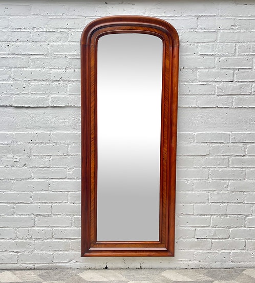 Antique Dressing Mirror Mahogany Frame  front