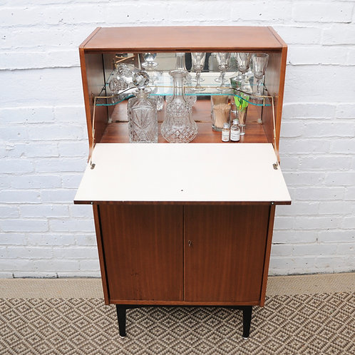 MID CENTURY COCKTAIL CABINET