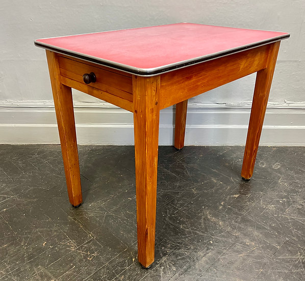 Vintage Formica Dining Kitchen Table corner