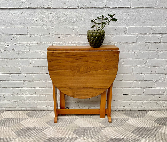 Small Vintage Folding Formica Dining Table