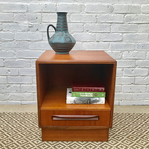 G Plan E.Gomme Bedside Table #353