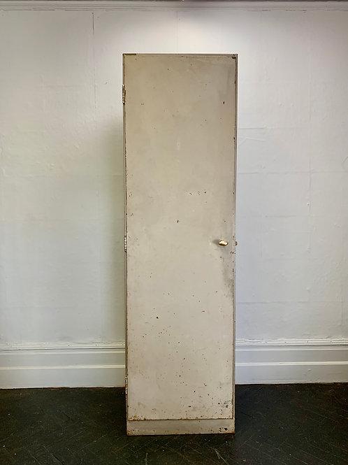 Large Vintage Metal Cabinet Industrial #D33