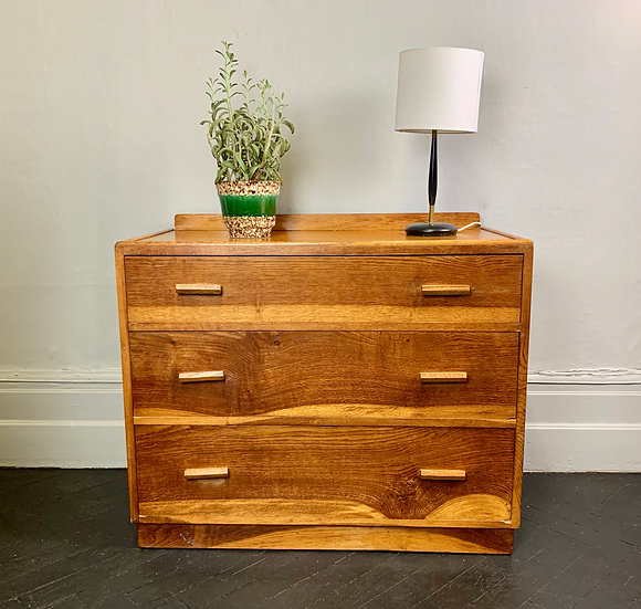 Vintage Chest of Drawers Bedroom Wooden #978