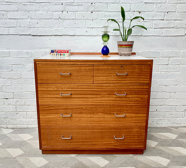Vintage Chest of Drawers by Ministry of Defence #D210