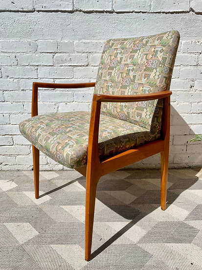 Vintage Retro Side Occasional Chair #D108