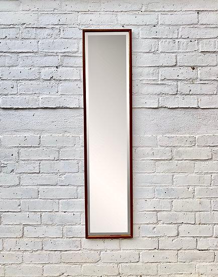 Vintage Wall Mirror Wood Frame #961