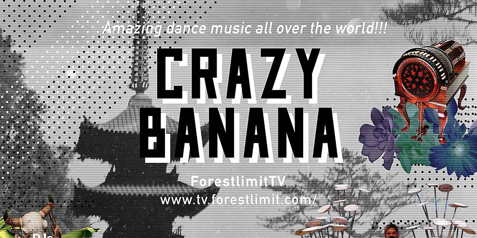 CRAZY BANANA ~ Amazing dance music all over the world!!! ~