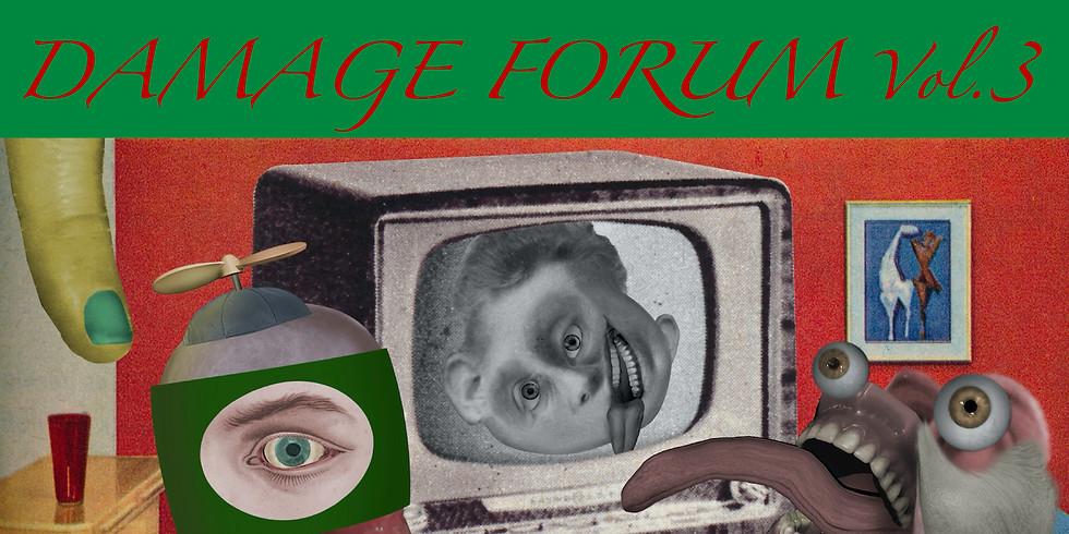 DAMAGE FORUM Vol.3  by Colin Raff + Hair Stylistics + rokapenis