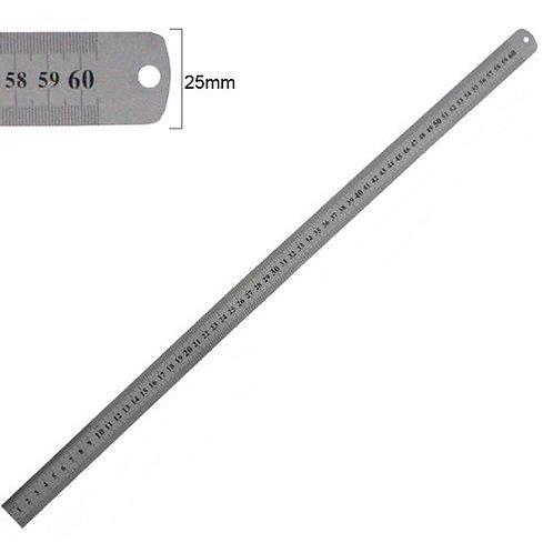 Régua de Inox 60cm