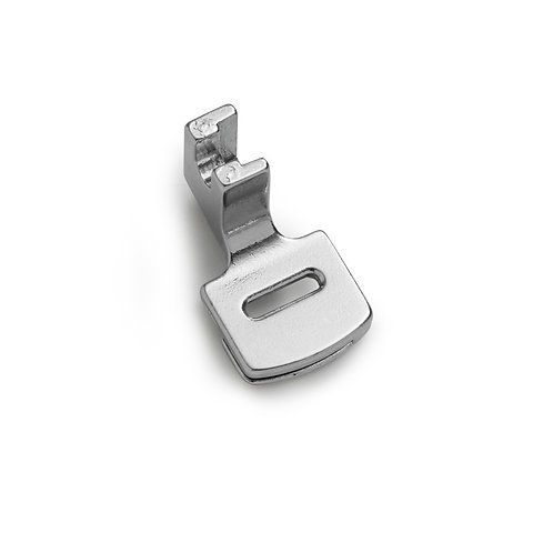 Calcador de zig zag para franzir em máquina doméstica
