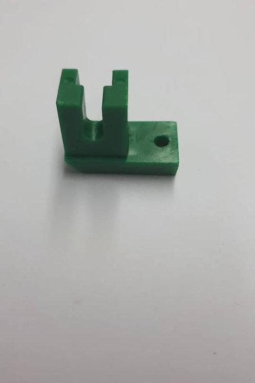 Calcador zíper invisível para máquina doméstica