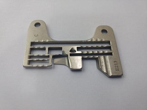 Chapa E213 Interlock Nova