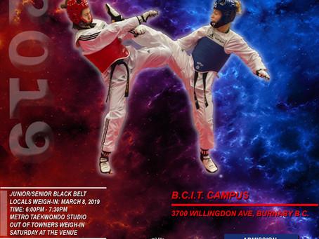 BC Taekwondo Championships 2019