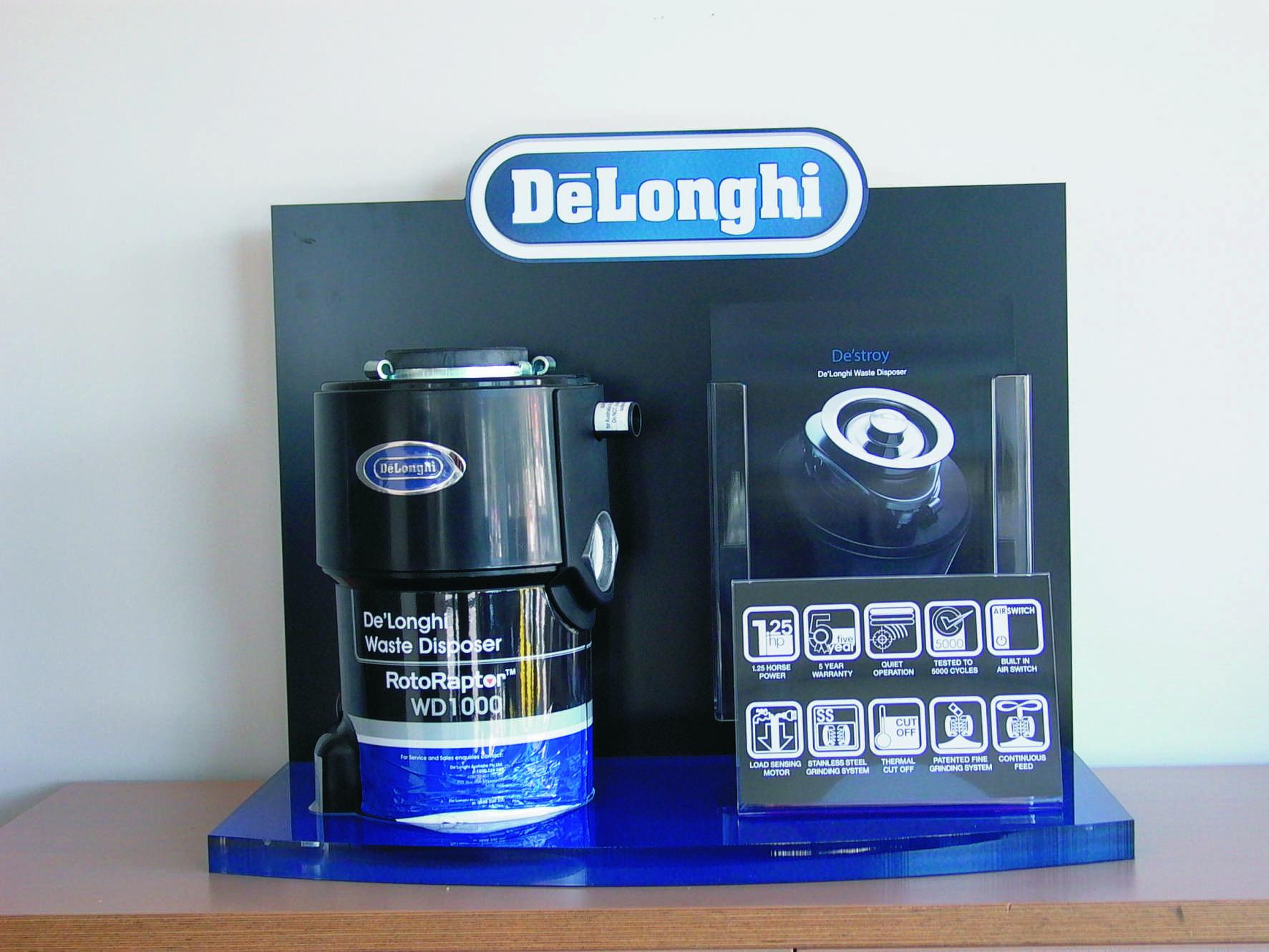 Delonghi waste disposal