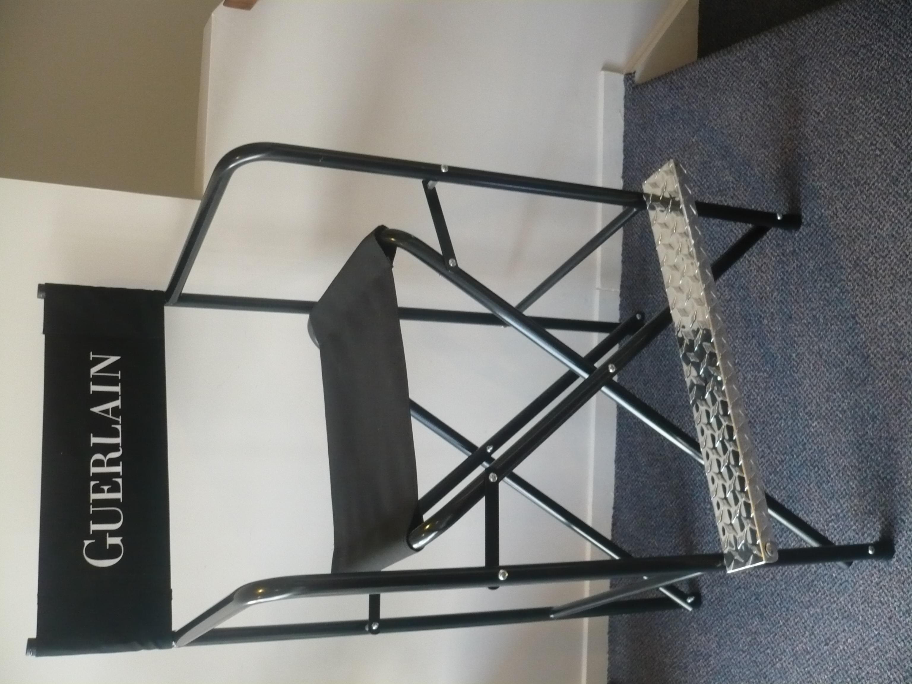 Aluminium Directors Chairs 1a