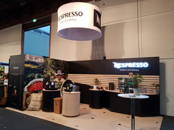Nespresso B2B Exhibition Stand Creation.