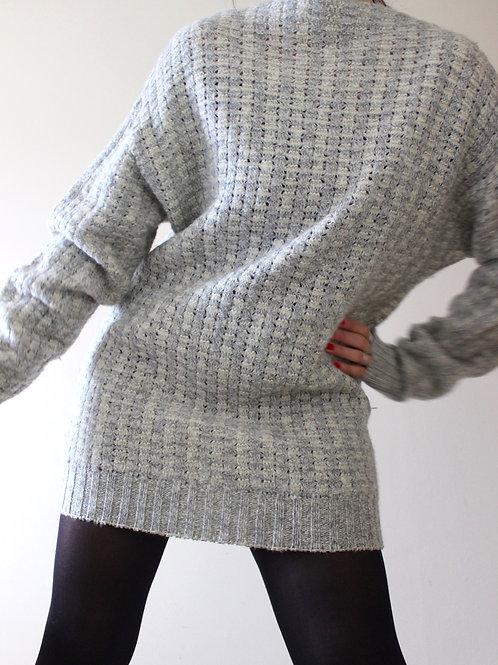 Vintage Boatneck Sweaterdress