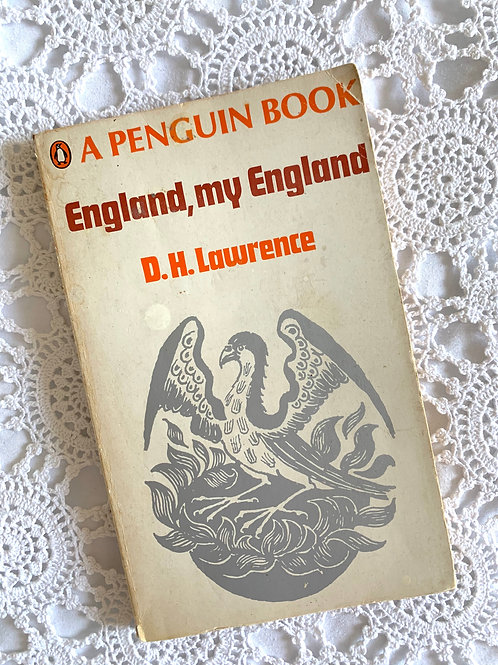 Vintage Book 'England, My England' Short Stories by D.H. Lawrence, Penguin 1968