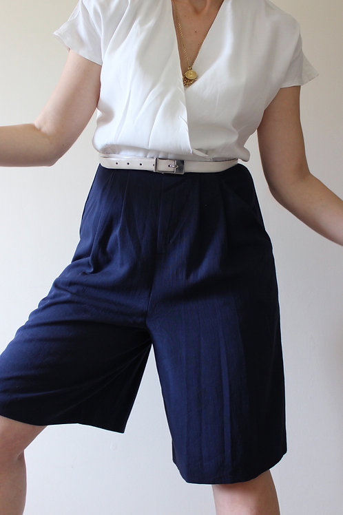Vintage Navy Jumpsuit with Pockets, MADE in USA