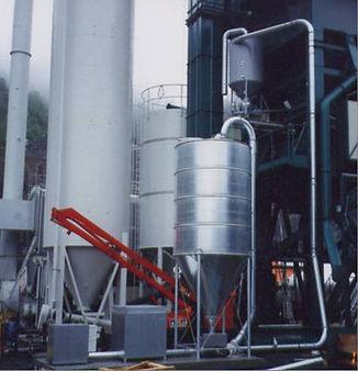 Granulat silo