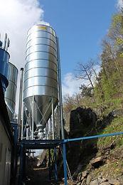 Pellets silo