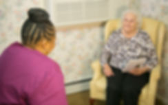 Listens to every need of the residents and helps them to know how much they are cared for