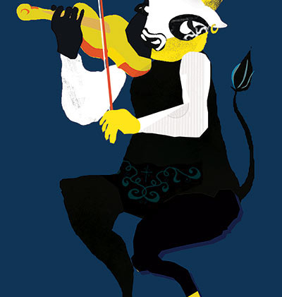 בכינור