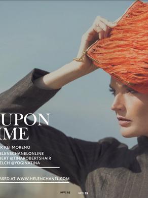 Chanel editorial by Kei Moreno