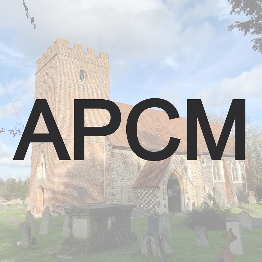APCM 16th May 2021 10.15am