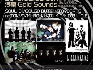 2019.2.3(Sun) noTOKYO @ 浅草Gold Sounds