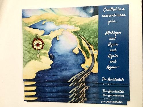 """""""Michigan & Again"""" Postcard Pack"""