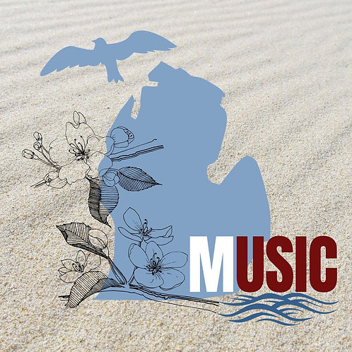 Michigan Music Compilation Album (33 tracks)