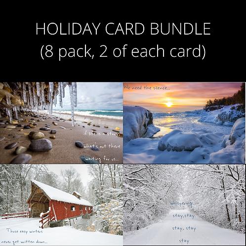 Holiday Cards w/ song lyrics (8)