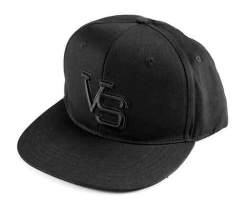 VS Snapback cap black