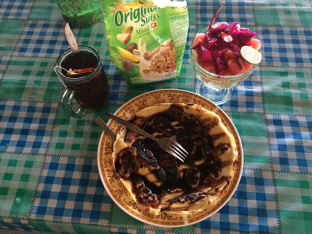 The classic energy breakfast