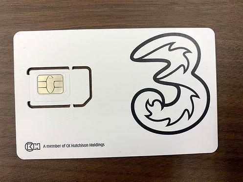 【アウトレット】DHA SIM for USA/CANADA/MEXICO アメリカ/カナダ/メキシコ 30日間 4GB 4G/LTE データ SIM無料音声付