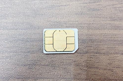 【アウトレットB級】Nippon SIM for Japan 日本国内用 180日間 30GB docomo回線 4G / LTE データ SIM