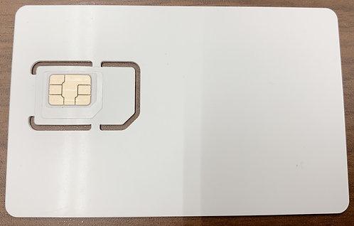 【アウトレットB級】Nippon SIM for Japan 日本国内用 180日間 6GB docomo回線 4G / LTE データ SIM