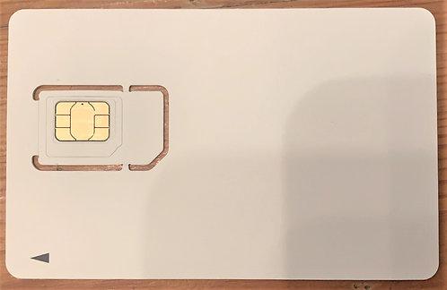 【アウトレットA級】Nippon SIM for Japan 日本国内用 90日間 15GB docomo回線 4G / LTE データ SIM