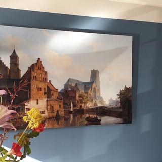 Delftsevaart Laurenskerk, 19e eeuw, Van Ostayen