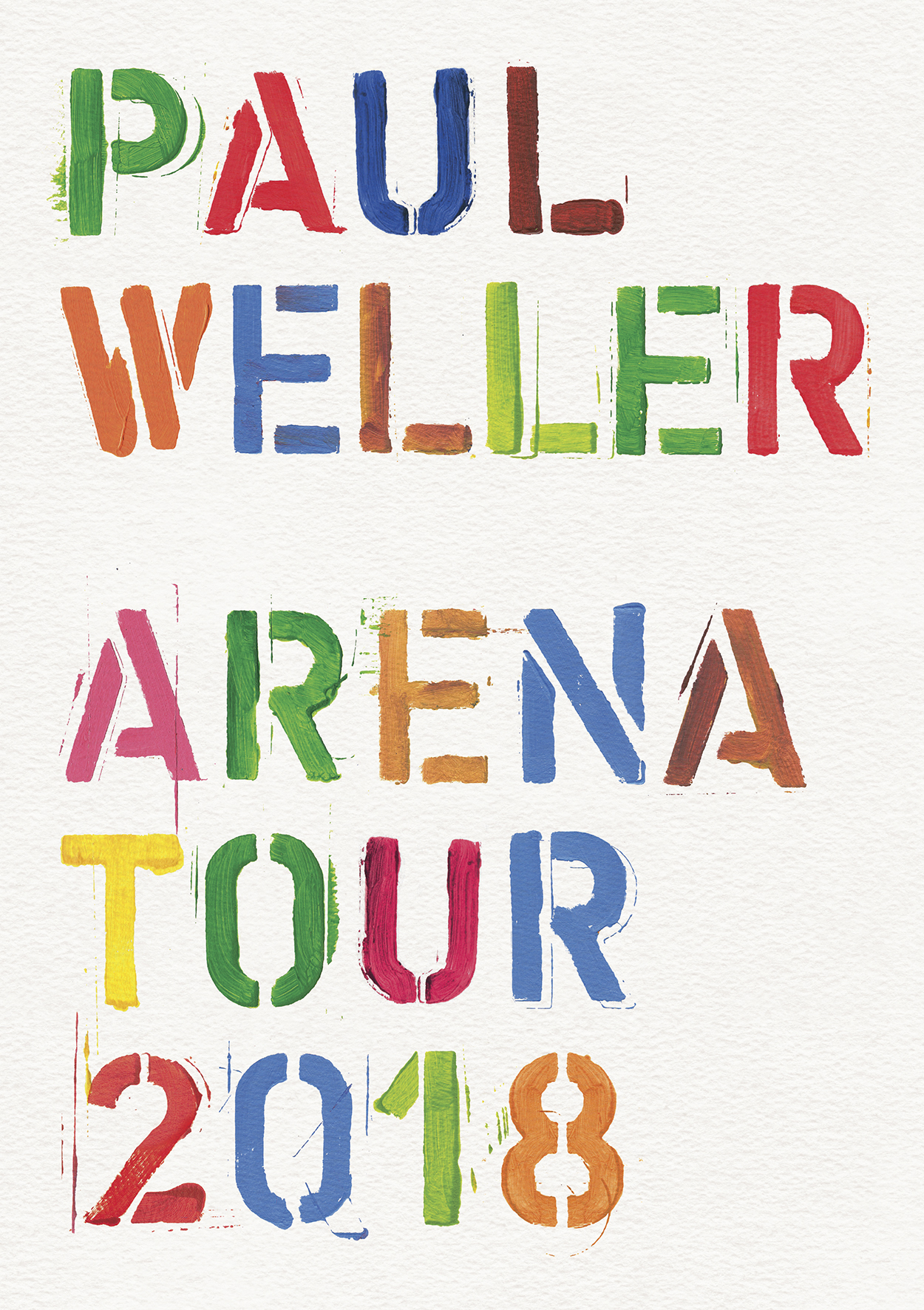 Paul Weller Tour Progamme