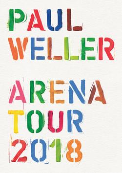 Paul Weller Tour Progamme