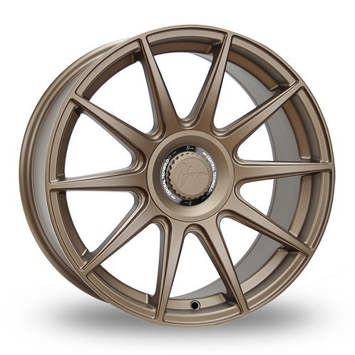 1FORM Edition 3 Matt Bronze  18 Inch Set of 4 alloy wheels