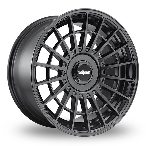 Rotiform LAS-R Matt Black  19 Inch Set of 4 alloy wheels