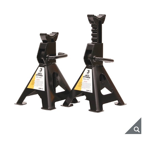 SIP Pair of 3 Ton Capacity Axle Stands - Model 03637
