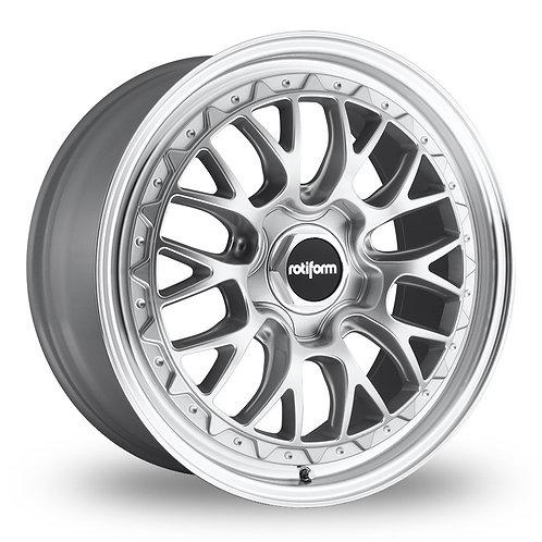 Rotiform LSR Silver Polished Lip  19 Inch Set of 4 alloy wheels